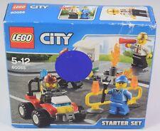 Lego city starter pack pompier set 60088 neuf scellé