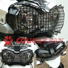 Triumph Tiger 1200 & 800 X Range, Black Stainless Steel Headlight Protector