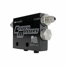 Clutch Masters Universal Black Hydraulic Flow Control Valve Fcv-2000