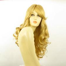 Parrucca donna lunga ricci biondo chiaro dorato ANGIE LG26