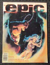 1982 EPIC ILLUSTRATED Magazine v.1 #10 FN+ 6.5 Suydam / Charles Vess
