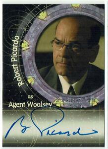 Stargate SG-1 Season 7 - 2005 Autograph Card A43 Robert Picardo as Agent Woolsey