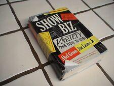 Show Biz From Vaude to Video.Green, Abel Green Joe Laurie, Jr. 1951
