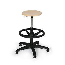 Arbeitshocker/stuhl  höhenverstellbar mit  Aufstieghilfe/Fußring. Industriestuhl