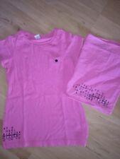 s.Oliver T-Shirt neonpink 140 + passender Loop Schal
