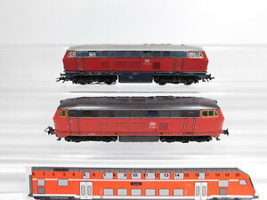 CS523-1 #2x Märklin H0/AC Locomotive, Light Defects: 216 068-7 / Delta +216