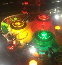 GETAWAY HIGH SPEED CHROME PINBALL POP BUMPER DECALS from METAL-MODS CHROME CAPS