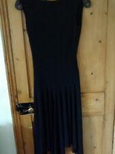 Ladies flattering shape  black dress by River Island size 10