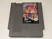 CRASH 'N' THE BOYS: STREET CHALLENGE Original Nintendo NES Video Game Cartridge