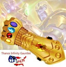 Thanos Infinity Stones Gauntlet Gloves Avengers Infinity War Endgame Toy Props