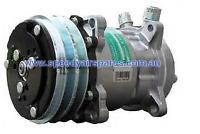 Sanden A/C Compressor GENUINE SD5S14 12V VOR interchangeable with SD508 SD7H15