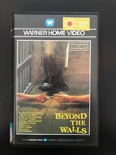 Beyond The Walls Ex-Rental Vintage Big Box VHS Tape English with dutch subs
