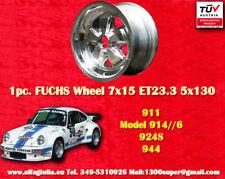 1 Stk cerchio Porsche Fuchs 944 Felge 7x15 ET23.3 poliert wheel TÜV jante llanta
