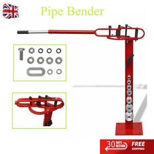 Manually Operated  Tube Bender Floor-Mounted Steel Pipe Bending Machine100cm New