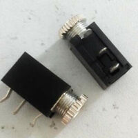 3pcs Panel PCB Mount 2.5mm Female DC Power Jack Socket