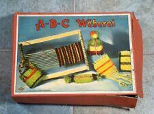 """ A-B-C Weberei "" Webrahmen A B C Verlag G.M.B.H. Nürnberg"