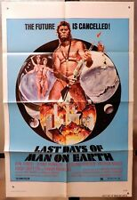 LAST DAY OF MAN ON EARTH - 1SH '74 MOVIE POSTER - POSTER ART BY JOHN SOLIE