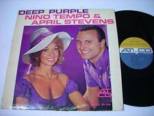 Nino Tempo & April Stevens Deep Purple 1963 Mono LP