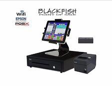 Complete Tablet Blackfish Bar Restaurant POS System Touchscreen Windows 10