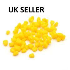 Look 20 x MEGA pop up fake yellow sweetcorn carp coarse fishing baits with slot