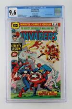 Invaders #6 - CGC 9.6 NM+ Marvel 1976 - Liberty Legion App! 30 Cent Variant!