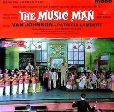 THE MUSIC MAN - VAN JOHNSON / PATRICIA LAMBERT - ODEON - ORIG.CAST - U.K. LP