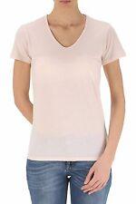 Burberry Brit originale t-shirt V-neck donna woman size S pink rosa