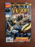 Venom: Sign If The Boss #2 (1997) 9.4 NM Marvel Comic Book Ghost Rider
