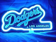 """Los Angeles Dodgers 3D Carved Neon Sign Beer Bar Gift 14""""x10"""" Light Lamp Artwork"""