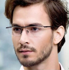 TR90 New Eyeglass Frame Half Rim men women Optical Glasses Spectacles Rx able