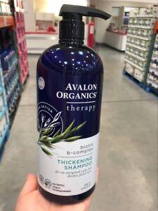 Avalon Organics Thickening Biotin B-Complex Shampoo, 32 Fl.Oz.