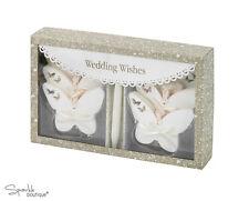 BUTTERFLY WEDDING WISHES -Keepsake Box/Pen- Guest Book Alternative -Advice Cards