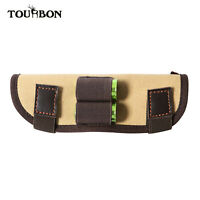 Tourbon Shooting Shotgun Cartridge Holder 2 Rounds Shotshell Ammo Carrier Canvas