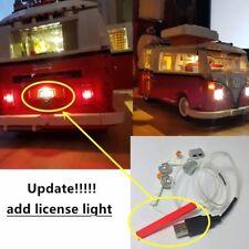 Lighting Kit DEL pour Lego 10220 VW Camper Van (Lumière DEL Kit Seulement) Neuf