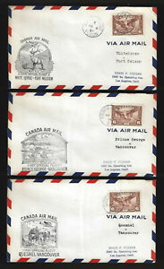 Canada First Flight Covers - Lot of 20 - All Different - Lot # 1