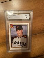 1991 Topps Traded Jeff Bagwell RC Graded 9 Mint