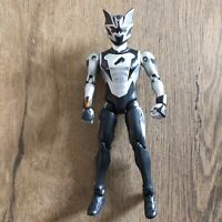 "BLACK BAT RANGER 6"" FURY JUNGLE FURY Power Rangers BANDAI FIGURE"