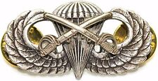 Airborne Cavalry Jump Wing Badge US Army Parachutist Insignia Swords Pin