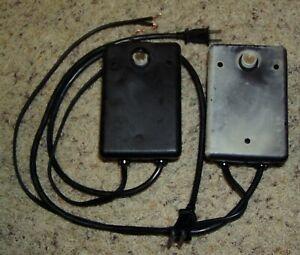 Lot of 2 Malibu ML44P 44 Watt Low Voltage Transformers with Dusk-to-Dawn Sensors
