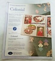 Creative Memories Photo Mounting Paper Colonial 6 Colors New 2003