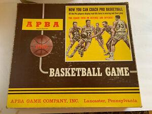 VINTAGE APBA Basketball Game Season 1971-1972 Complete