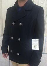 NWT True Religion Men's Hol Wool Pea Coat Size Medium MNEB361WC2 $392 Retail+tax