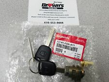 NEW GENUINE HONDA ACCORD 03-05 DX RIGHT FRONT DOOR LOCK CYLINDER 72141-SDA-A11