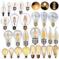 E27 E14 2/4/6/8W LED Retro Vintage Edison Lampadine Lampada Filament Luce Caldo