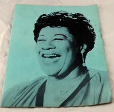 An Evening With Ella Fitzgerald  Event Program  1961  GUC