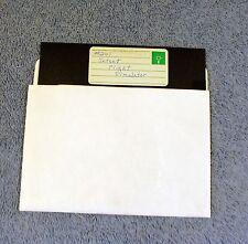 """Vintage Jetset Flight Simulator Computer Game  51/4"""" 5.25"""" Floppy  - 1 disk Jet"""