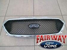 13 thru 19 Taurus OEM Ford SHO Upper Chrome and Black Grille Grill with Emblem