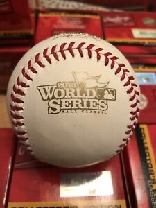 Rawlings 2013 Official World Series MLB Game Baseball Boston Red Sox w/ scores