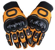 Biker Handschuhe Motoradhandschuhe Protektoren MOTOCROSS Racing Gloves Gr.S -XXL