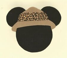 Mickey Mouse Safari Iron On Fabric Applique